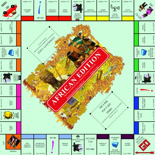 monopoly AFRICA copy